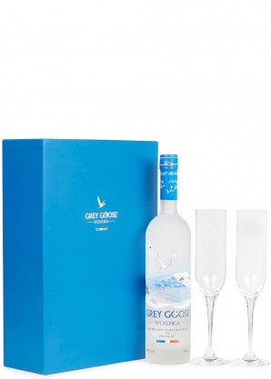 GREY GOOSE Le Fizz Vodka Gift Set