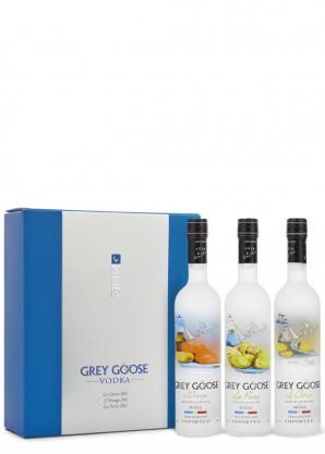 GREY GOOSE Flavoured Vodka Triple Pack