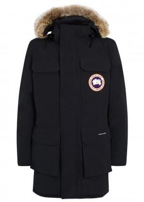 Canada Goose Citadel navy fur-trimmed parka