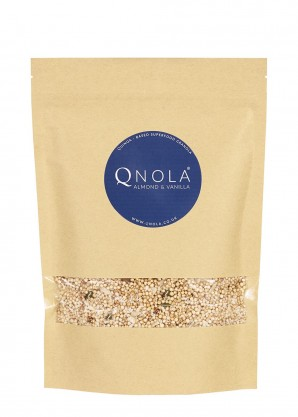 QNOLA Almond and Vanilla Quinoa Cereal 250g