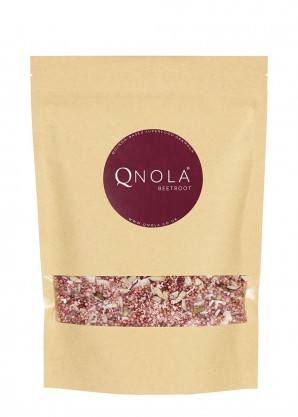 QNOLA Beetroot and Pistachio Quinoa Cereal 250g