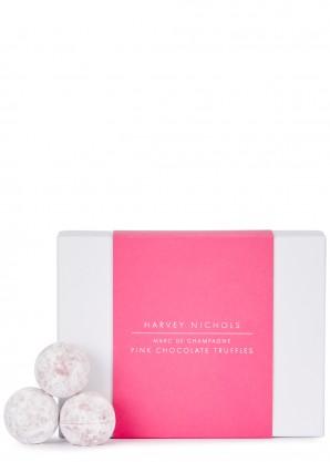 Harvey Nichols Marc de Champagne Pink Chocolate Truffles 125g