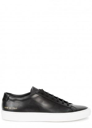 Common Projects Achilles black leather sneakers