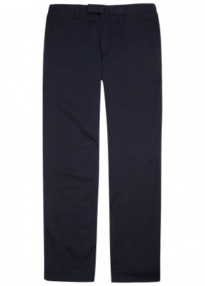 Polo Ralph Lauren Navy slim-leg stretch cotton chinos