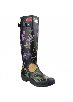Hunter Womens field rhs tall boot black