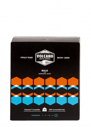 Volcano Coffee Works Coffee Pods - Bold x 10
