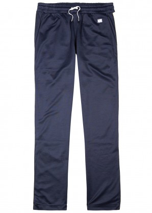 AMI Navy jersey jogging trousers