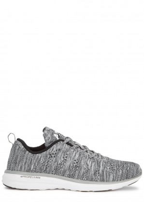 Athletic Propulsion Labs Techloom Pro grey knitted sneakers