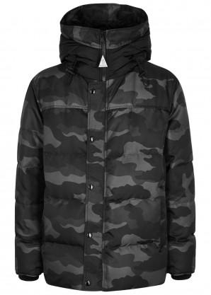 Moncler Enfant Sebastien camouflage-print nylon jacket