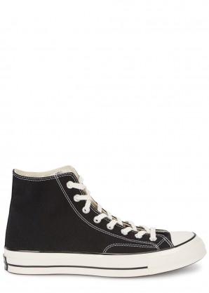 Converse Chuck 70 black canvas sneakers