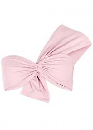 Venice pink one-shoulder bikini top
