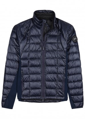 Canada Goose HyBridge Lite navy shell and jersey jacket