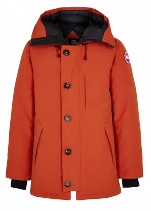 Canada Goose Chateau red Arctic Tech shell parka