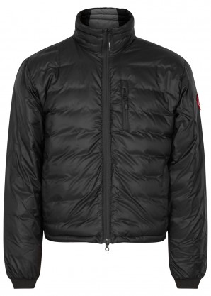 Canada Goose Lodge Fusion Fit black shell jacket