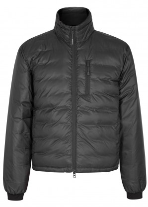 Canada Goose Lodge Fusion Fit charcoal shell jacket