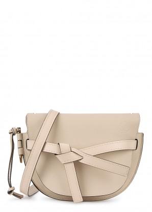 Loewe Gate small leather saddle bag