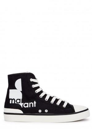 Isabel Marant Benkeen black hi-top sneakers