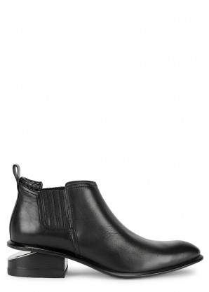 Alexander Wang Kori 40 black leather Chelsea boots