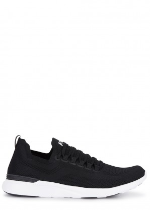 Athletic Propulsion Labs Techloom Breeze black knitted sneakers