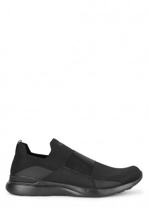 Athletic Propulsion Labs Techloom Bliss black knitted sneakers