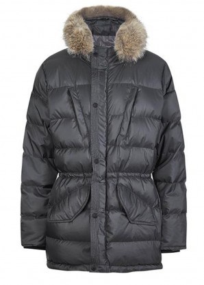 Shackleton Endurance lightweight parka - charcoal