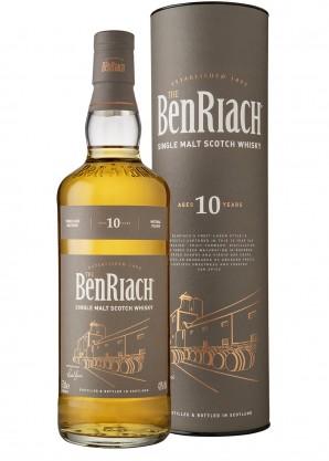 BenRiach 10 Year Old Single Malt Scotch Whisky