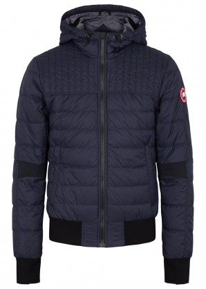 Canada Goose Cabri navy quilted shell jacket
