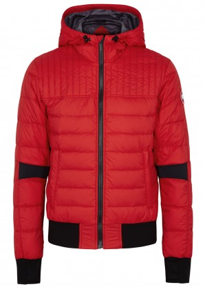 Canada Goose Cabri red quilted shell jacket