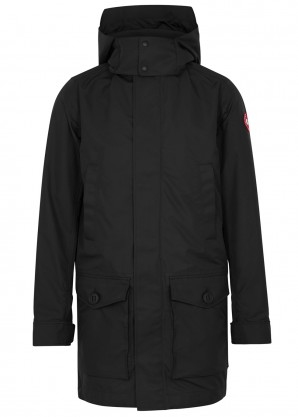 Canada Goose Crew black shell coat