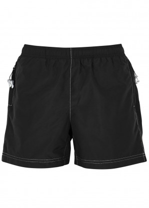 Adam Selman Sport Black shell shorts