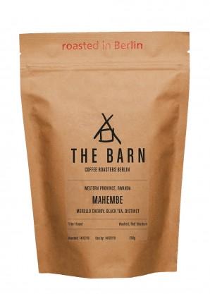 The Barn Rwandan Mahembe Filter Roast Coffee Beans 250g