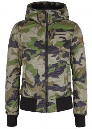 Canada Goose Dore camouflage shell bomber jacket