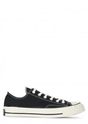 Converse Chuck 70 OX black canvas sneakers