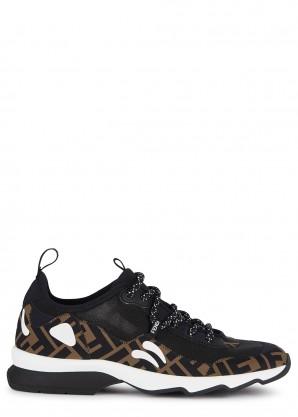 Fendi Freedom FF-print neoprene sneakers