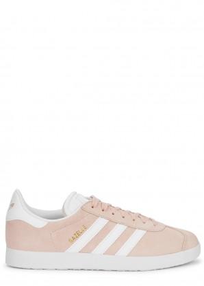 adidas Originals Gazelle blush suede sneakers