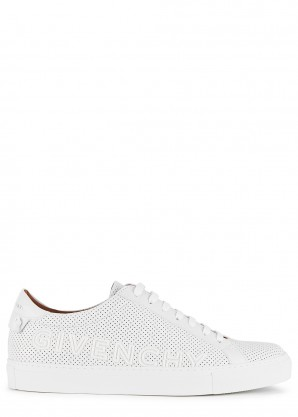 Givenchy Urban Street perforated leather sneakers