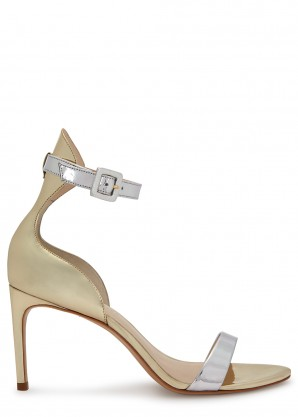 Sophia Webster Nicole 85 two-tone leather sandals