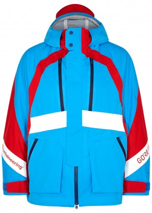 White Mountaineering Gore-Tex blue shell jacket