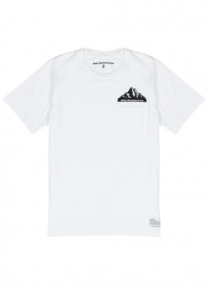 White Mountaineering White cotton T-shirt