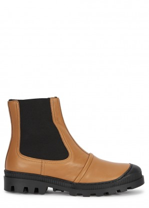 Loewe Brown leather Chelsea boots