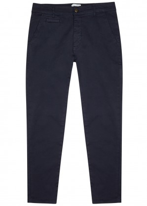Orta tapered stretch-cotton chinos