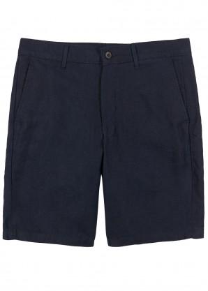 NN07 Navy linen shorts
