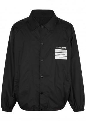 Black shell jacket