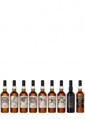 Game of Thrones The Complete Single Malt Scotch Whisky Collection 9 x 700ml