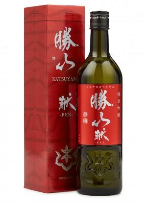 Katsuyama Sake Ken Dry Junmai Ginjo Sake 720ml