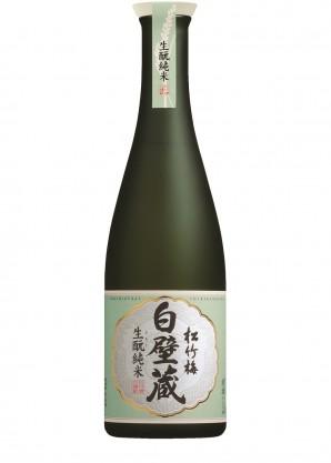 Takara Brewery Shirakabe Gura Kimoto Junmai Sake 640ml