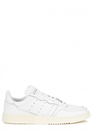 adidas Originals Supercourt white leather sneakers