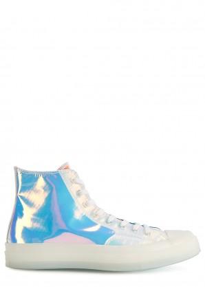 Converse Chuck 70 iridescent hi-top sneakers