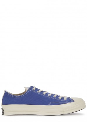 Converse Chuck 70 Renew blue canvas sneakers
