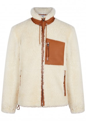 Loewe Cream shearling jacket